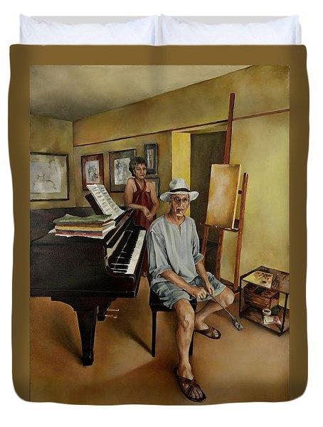 The Studio Duvet Cover by Jolante Hesse