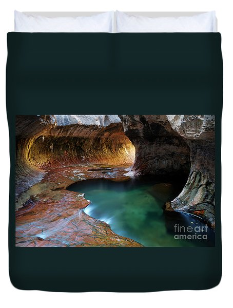 The Subway Sacred Light Duvet Cover