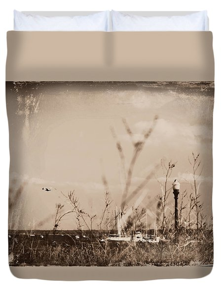 The Summer Wind II Duvet Cover