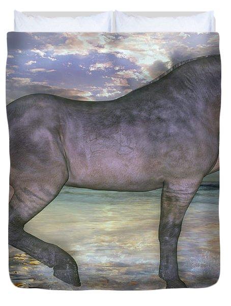 The Sunrise Horse Duvet Cover