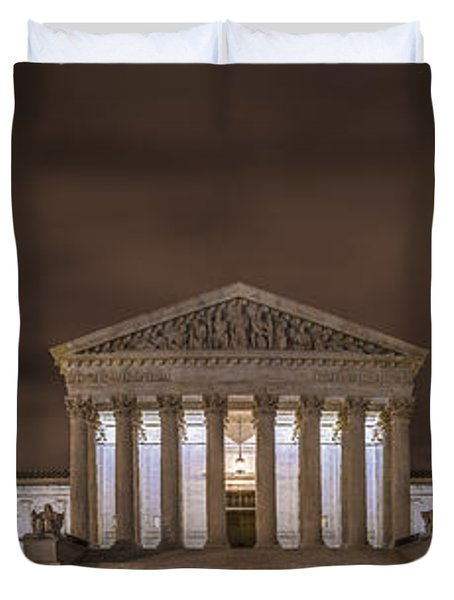 The Supreme Court In Color Duvet Cover