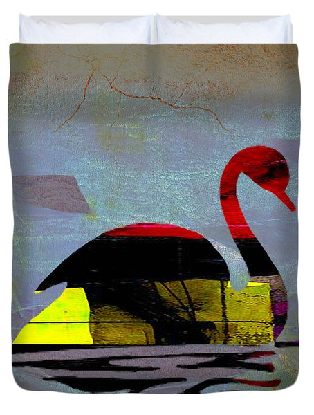The Swan Duvet Cover
