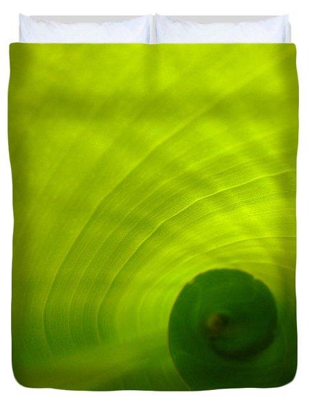 The Swirl Duvet Cover