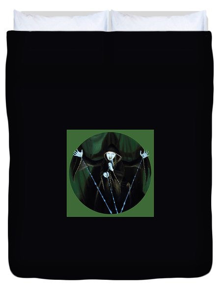 The Taker Duvet Cover by Shelley Irish
