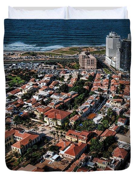 the Tel Aviv charm Duvet Cover