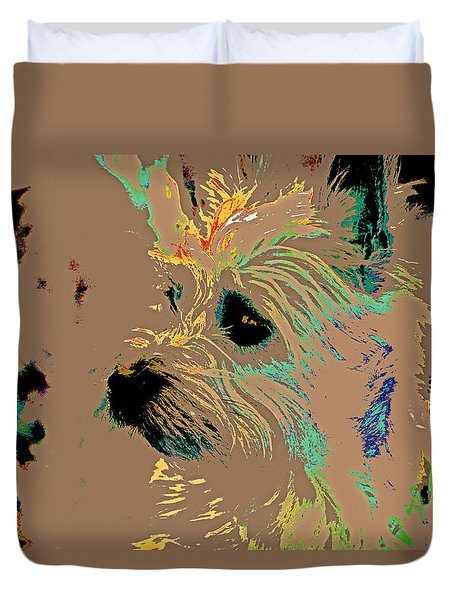 The Terrier Duvet Cover