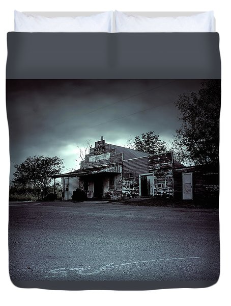 Tcm #10 - General Store  Duvet Cover by Trish Mistric