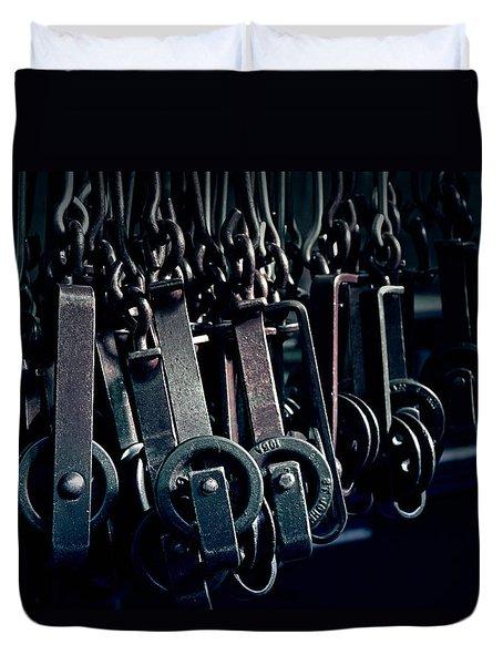 Tcm #2 - Slaughterhouse  Duvet Cover by Trish Mistric