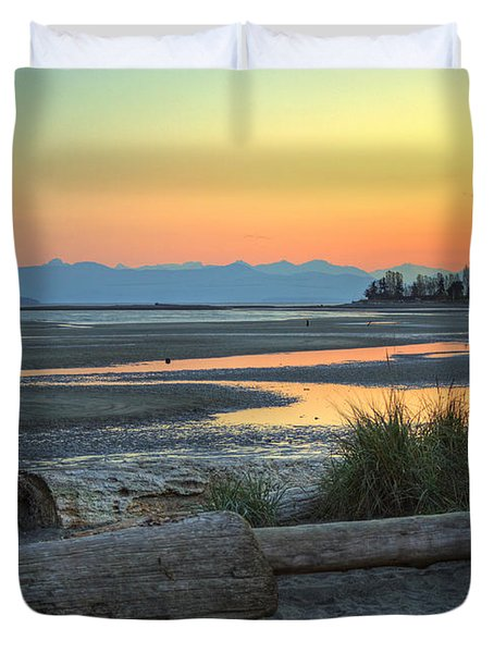 The Tide Is Low Duvet Cover