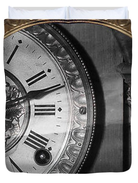 Duvet Cover featuring the photograph The Time Machine by Gunter Nezhoda