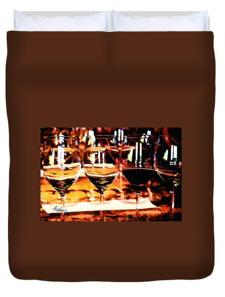 The Toast Duvet Cover