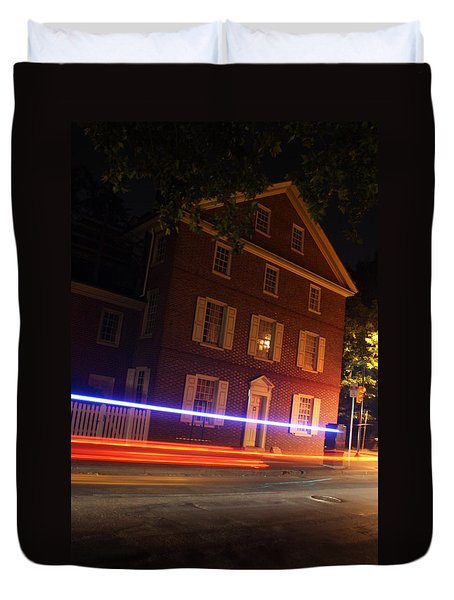 The Todd House Philadelphia Duvet Cover by Christopher Woods