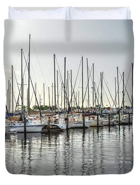 The Trail To Water Duvet Cover