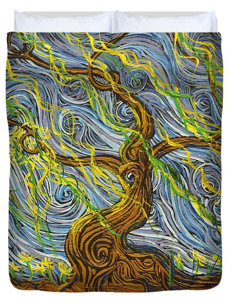 The Tree Have Eyes Duvet Cover