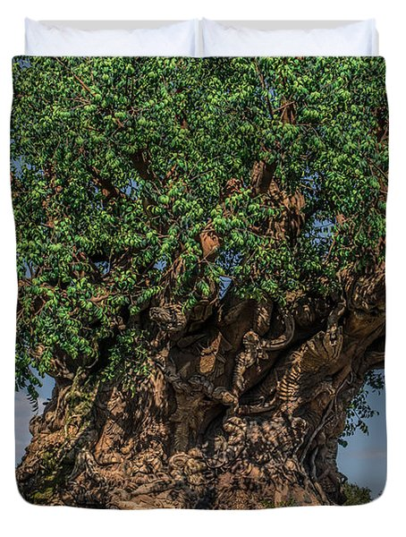 The Tree Of Life Close Up Duvet Cover