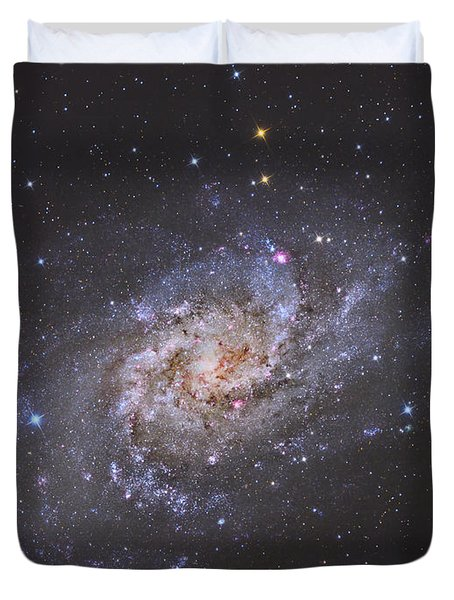 The Triangulum Galaxy Duvet Cover by Reinhold Wittich