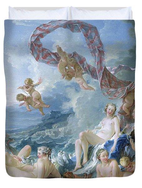 The Triumph Of Venus Duvet Cover