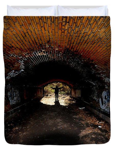 The Tunnel Duvet Cover