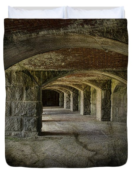 The Tunnels Duvet Cover