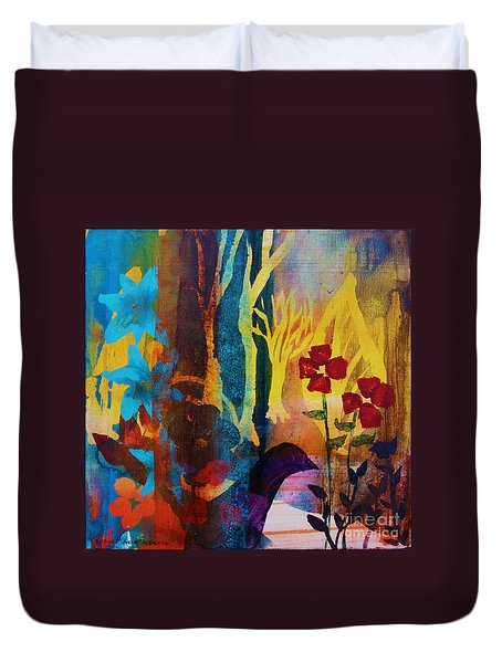 The Unforgettable Walk Duvet Cover