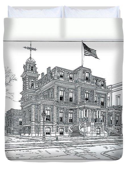 The Union League Philadelphia 1867 Duvet Cover