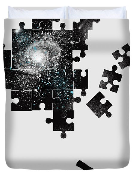 The Unsolved Mystery Duvet Cover