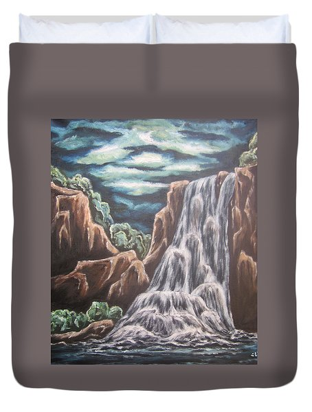 The Untamed Imagination Duvet Cover