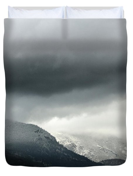 Duvet Cover featuring the photograph The Valley by Dana DiPasquale