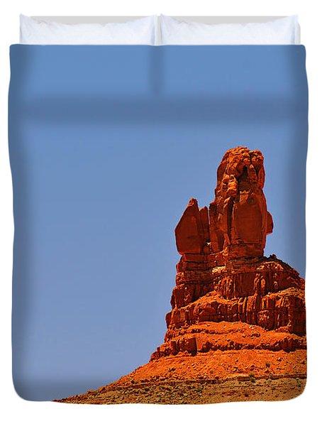 The Vibe Of Valley Of The Gods Utah Duvet Cover by Christine Till
