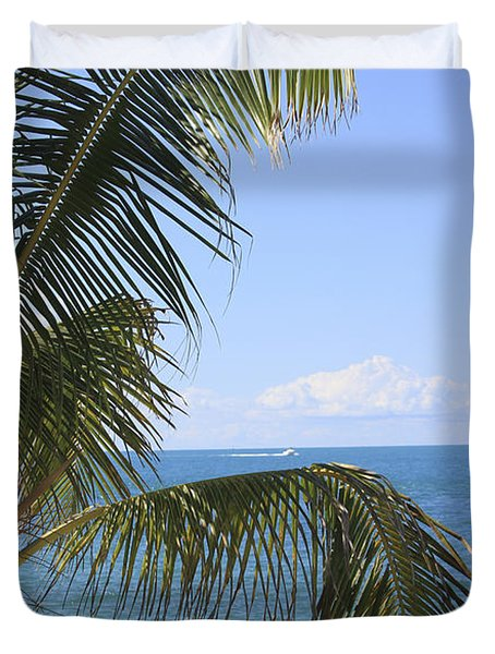 Key West Ocean View Duvet Cover