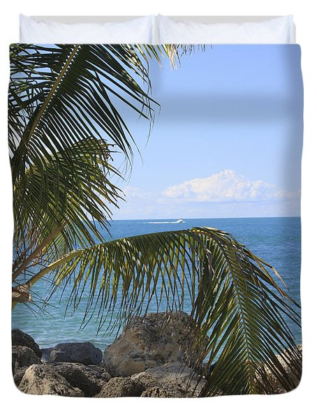 Key West Ocean View Duvet Cover