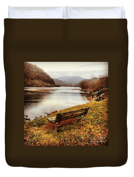 The View Duvet Cover by Kerri Farley