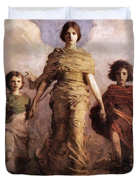 The Virgin Duvet Cover
