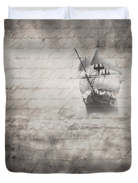 The Voyage Duvet Cover by Edward Fielding