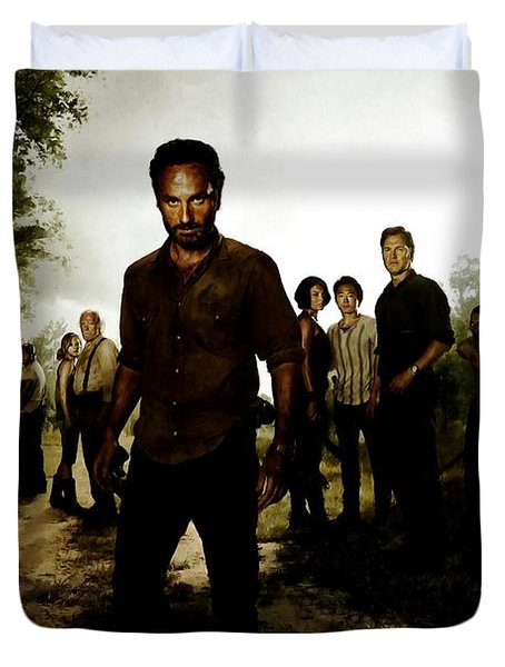 The Walking Dead Duvet Cover