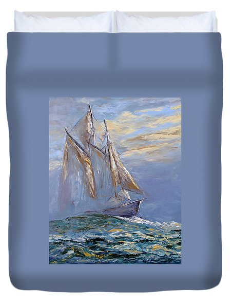 The Wanderer Duvet Cover