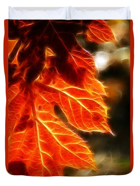 The Warmth Of Fall Duvet Cover