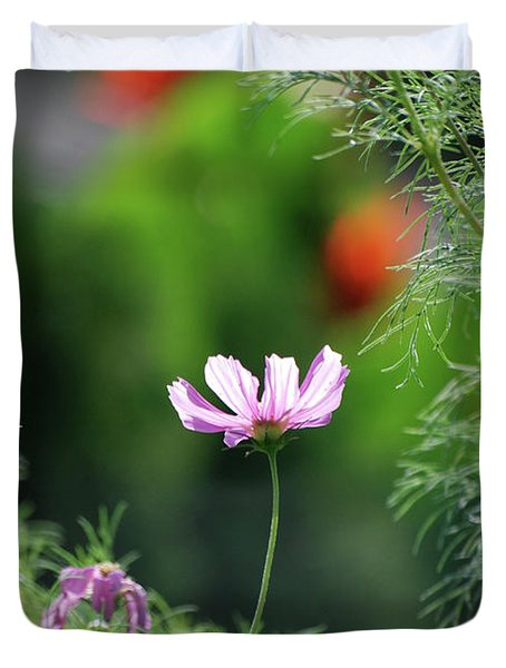 Duvet Cover featuring the photograph The Warmth Of Summer by Thomas Woolworth