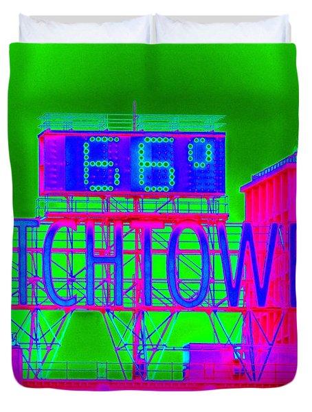 The Watchtower Duvet Cover by Ed Weidman