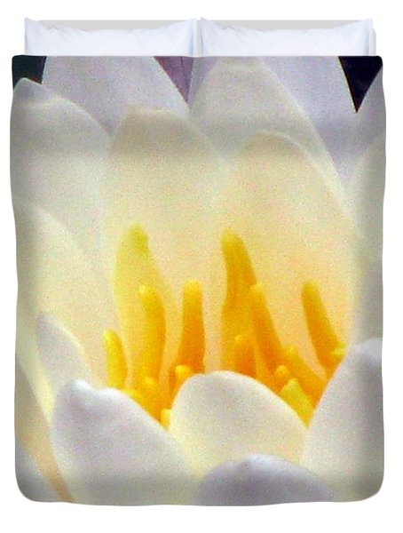 Duvet Cover featuring the photograph The Water Lilies Collection - 11 by Pamela Critchlow