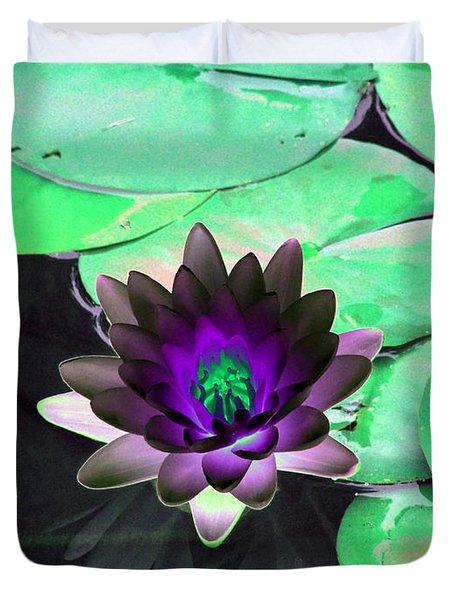 The Water Lilies Collection - Photopower 1113 Duvet Cover