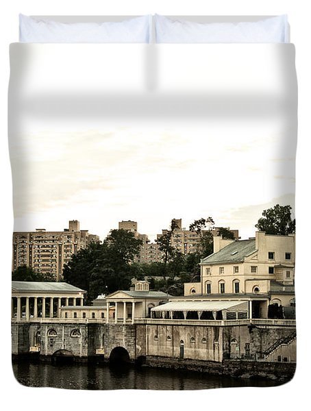 The Waterworks Duvet Cover by Bill Cannon
