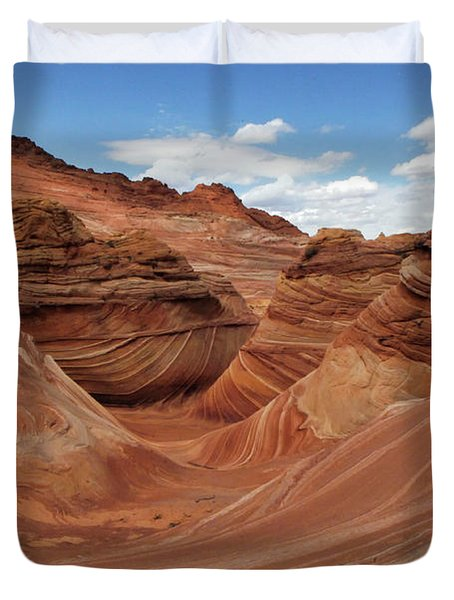 The Wave Center Of The Universe Duvet Cover