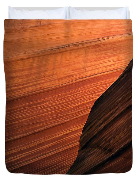 'the Wave' North Coyote Buttes 47 Duvet Cover