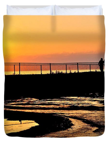 The Weekend Duvet Cover by Frozen in Time Fine Art Photography