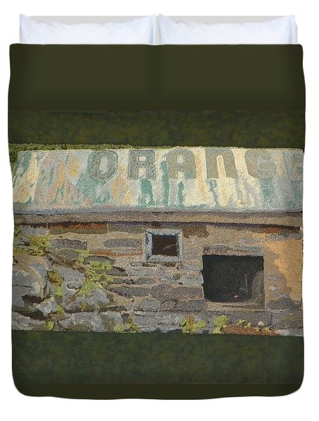 The Well House  Duvet Cover