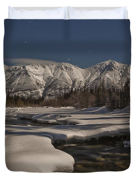 The Wheaton River Valley Lit By The Duvet Cover by Robert Postma
