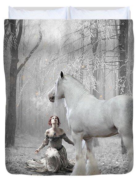 The White Fairytale Duvet Cover