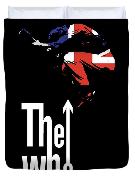 The Who No.01 Duvet Cover by Caio Caldas
