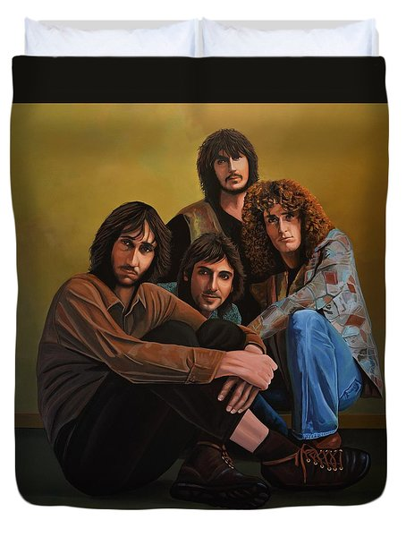 The Who Duvet Cover by Paul Meijering